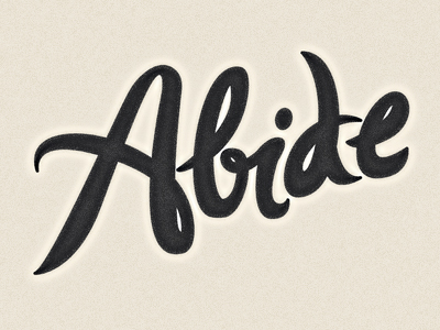 abide-logo-type